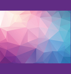 Abstract pink blue background vector