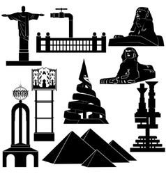 Architecture Sights vector