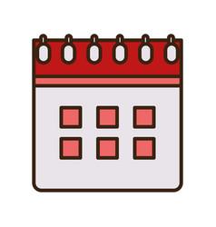 calendar reminder date plan icon vector image