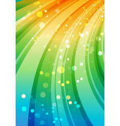Colorful background curve multicolored element vector