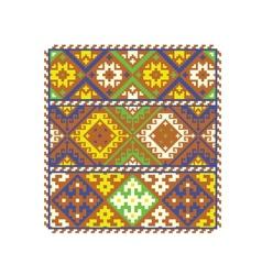 Ethnic ukrainian patterns vector image