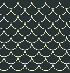 Fish scale seamless pattern vector