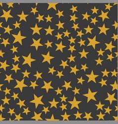 orange stars pattern vector image