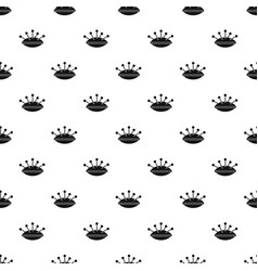 Pillow with needles pattern vector