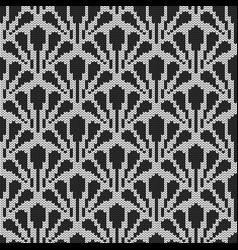 plant flora seamless decorative background vector image