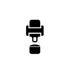 Seat belt flat icon vector