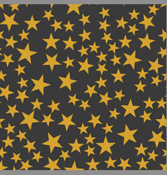 The orange stars pattern vector