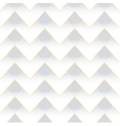 White zigzag seamless pattern vector