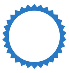 seal frame flat icon vector image