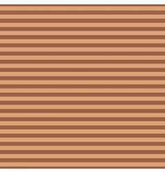 Striped brown seamless pattern vector image vector image