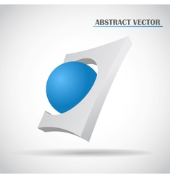 abstract ball vector image