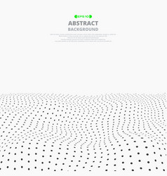 abstract of gradient mesh dot pattern background vector image