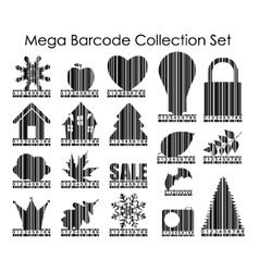 Barcode Set Image vector