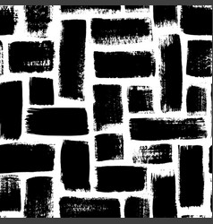 Grunge rectangles seamless pattern vector