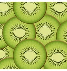 kiwi pattern background icon vector image
