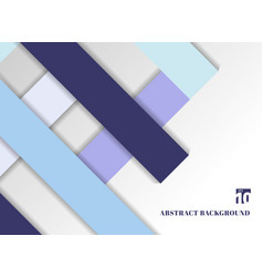 template abstract geometric blue color tone vector image