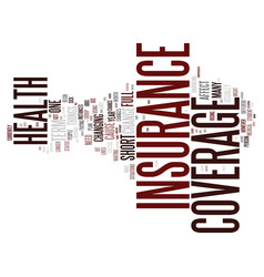 Temporary insurance it s worth it text background vector