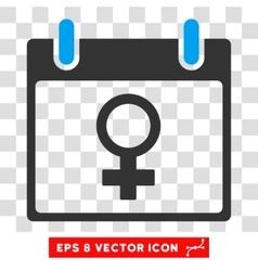 Venus Female Symbol Calendar Day Eps Icon vector
