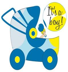 Its A Boy vector image vector image