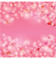 light hearts frame 1 380 vector image