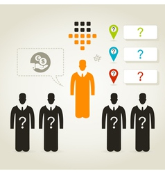 Person business4 vector image
