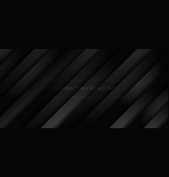Abstract 3d black diagonal stripe layer paper vector