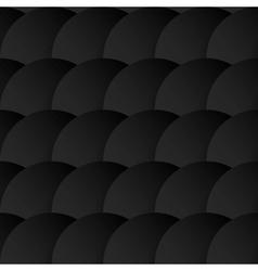 Circles with drop shadows vector image
