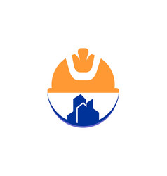 Construction industrial logo vector