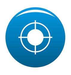 Far target icon blue vector