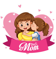 happy mother day icon vector image