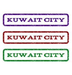 Kuwait city watermark stamp vector