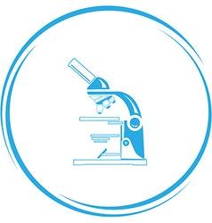lab microscope vector image