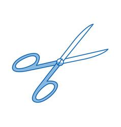 Medical equipment scissors instrument icon vector
