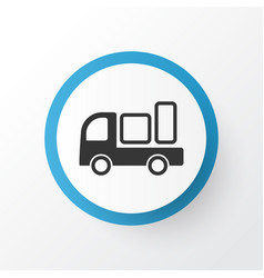 shipping icon symbol premium quality isolated vector image