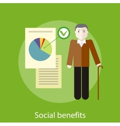 Social Benefits Concept vector