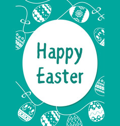 easter template 201714 vector image