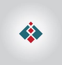 square level logo vector image
