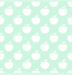 apple light seamless pattern background vector image