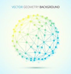 Geometry of connections vector image