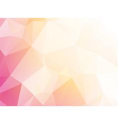 modern light pastel triangular background vector image