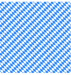 oktoberfest seamless pattern with diagonal vector image