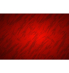Red abstract background with dark streaks vector