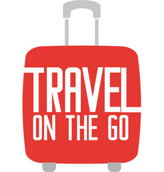 Travel on go logo vector