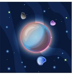 Triton cartoon blue triton vector