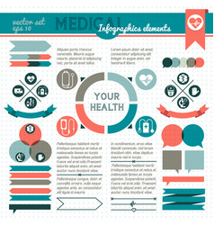 your health infographic vector image