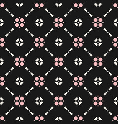 floral ornament seamless pattern texture of mesh vector image