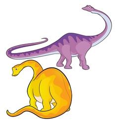 apatosaurus vector image