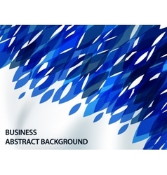 abstract background with contrast shapes vector image