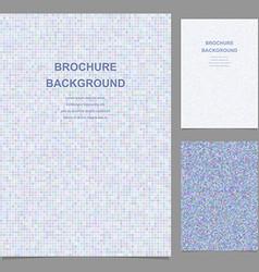 Abstract brochure template design vector