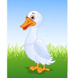 Duck cartoon vector